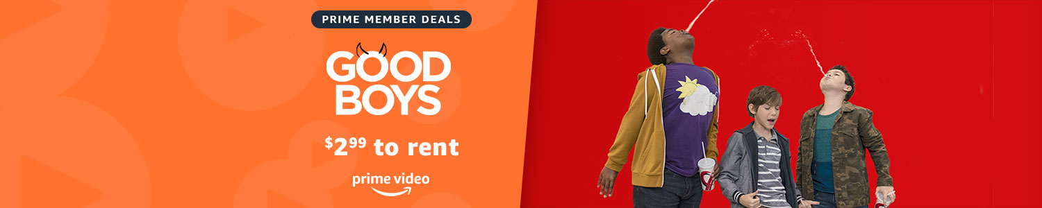 $2.99 to rent The Good Boys on Prime Video