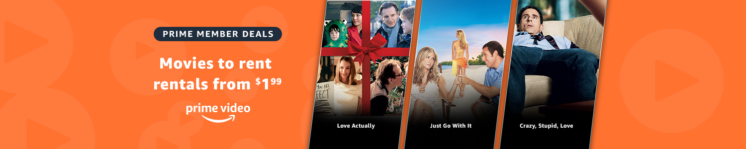 Romantic comedy rentals from $1.99