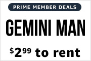 $2.99 to rent movies on Prime Video