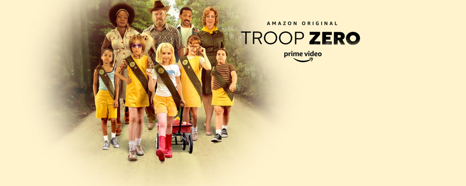 Watch Troop Zero now, included with Prime