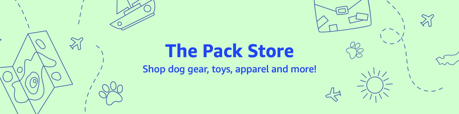 The Pack Store -- shop dog gear, toys, apparel and more