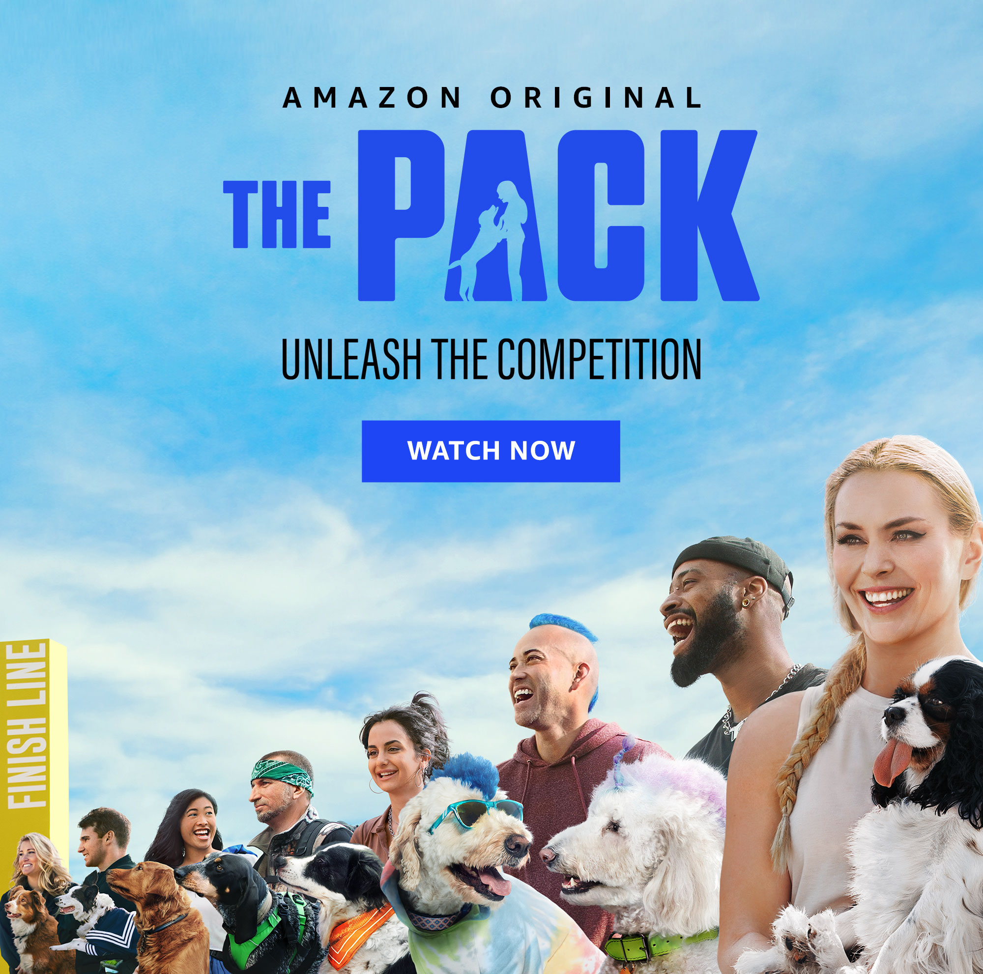 "Amazon Original Series ""The Pack"" -- unleash the competition. Watch now on Prime Video."
