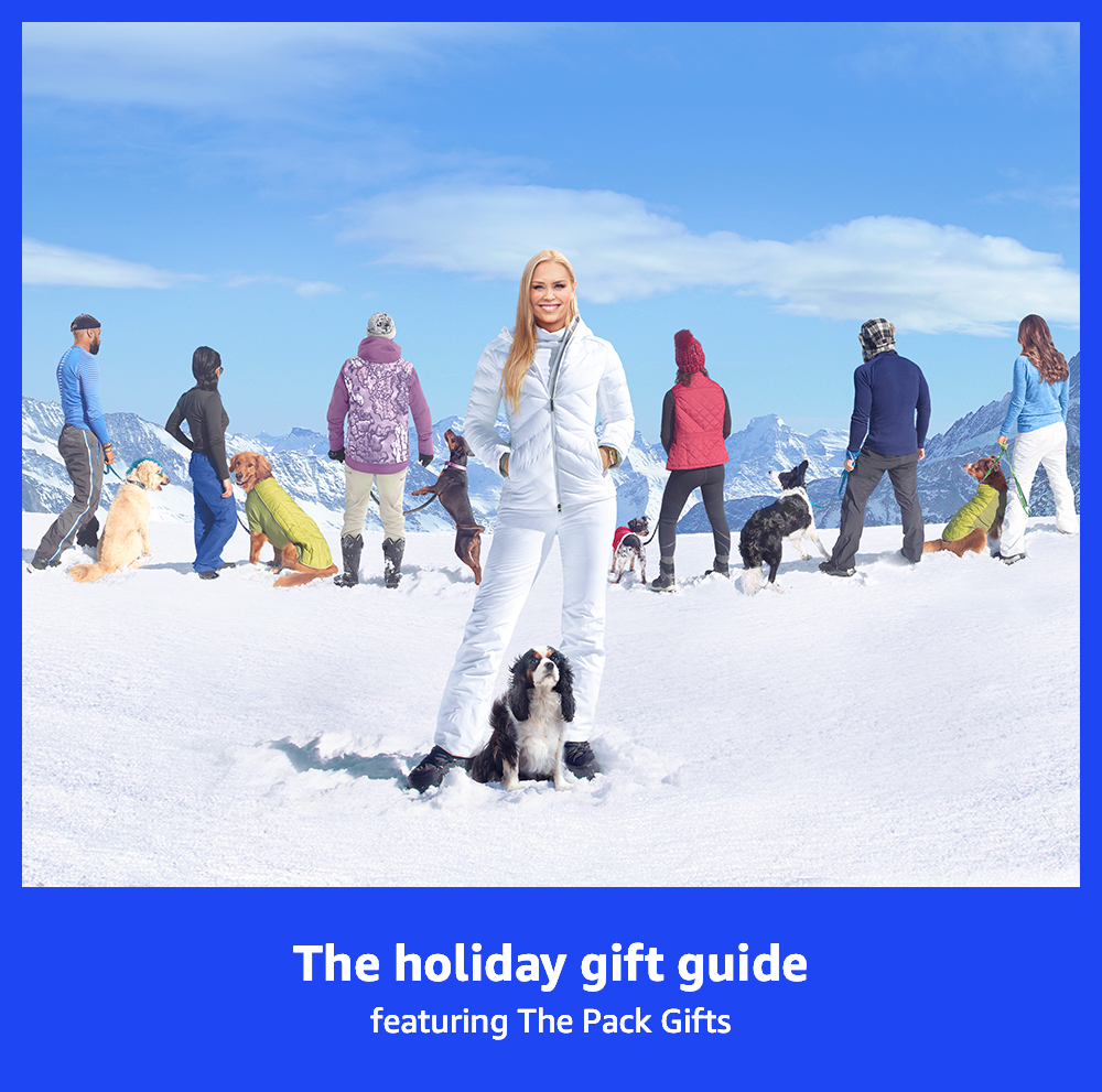 "The holiday gift guide featuring ""The Pack"" gifts"