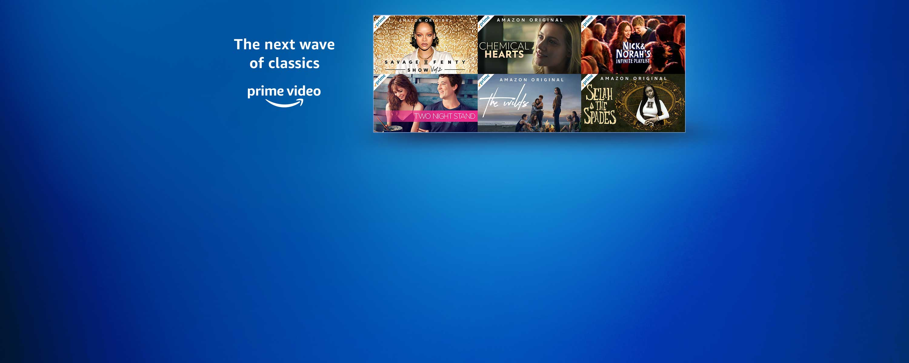 More streaming on Prime Video