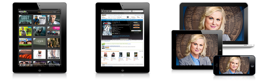 Amazon Instant Video on Apple iPhone, iPad, or iPod Touch