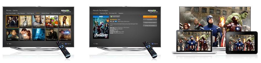 Amazon Instant Video on Xbox 360