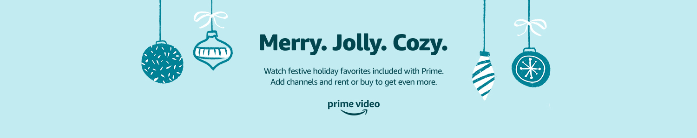 Merry. Jolly. Cozy.