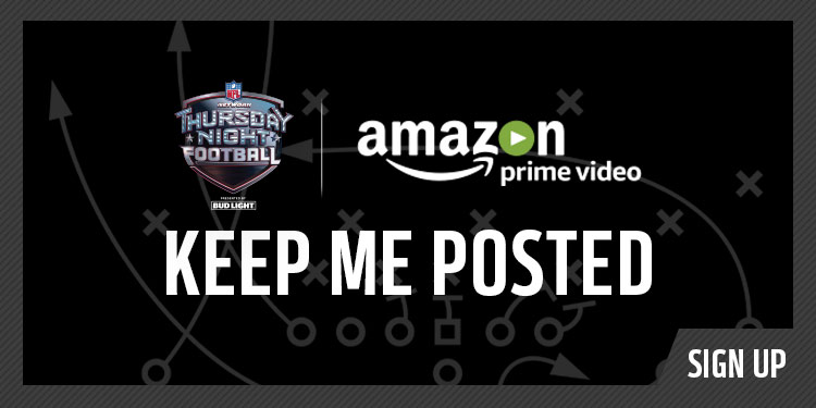 Sign Up for Thursday Night Football Updates