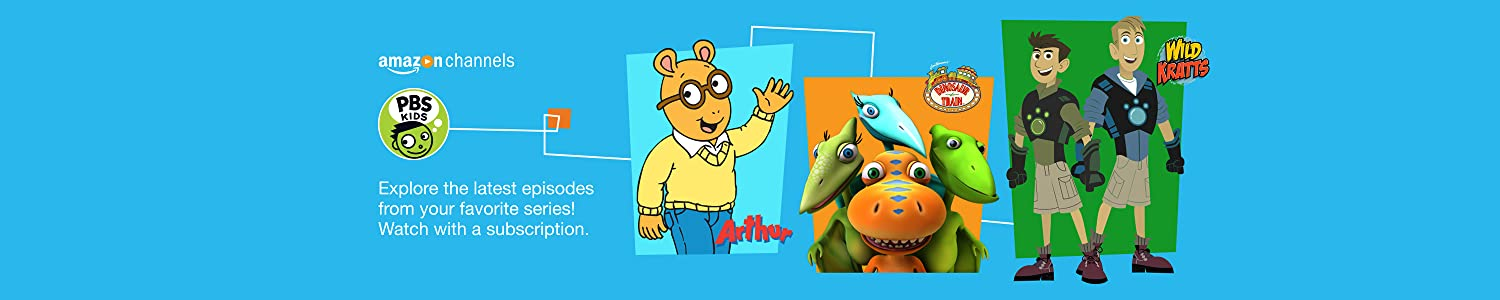 Explore the latest episodes from your favorite series with a PBS KIDS subscription