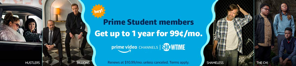 Get up to 1 year of Showtime for $0.99/month