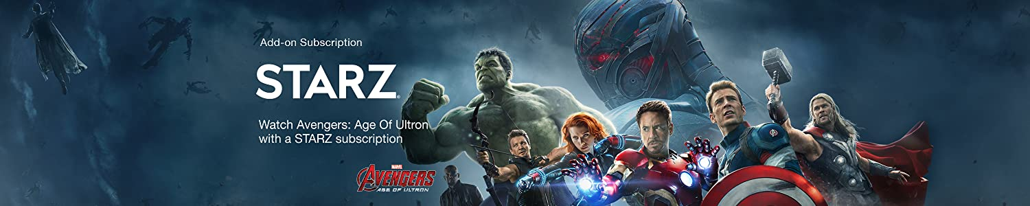 Watch Avengers: Age of Ultron with a Starz subscription