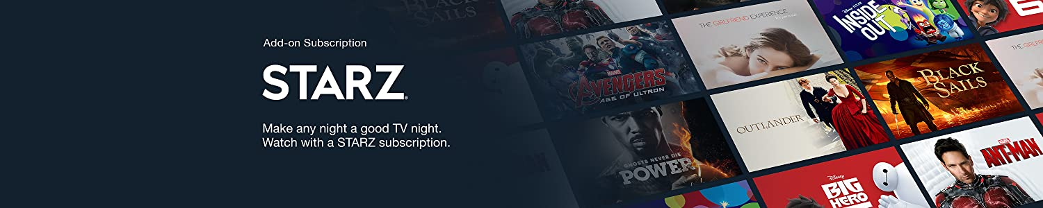 Make any night a good TV night.Watch with a Starz subscription.