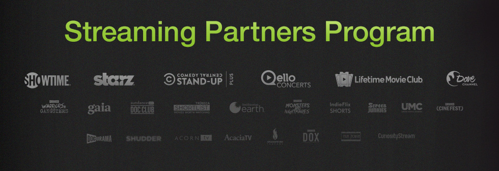 Streaming Partners Program