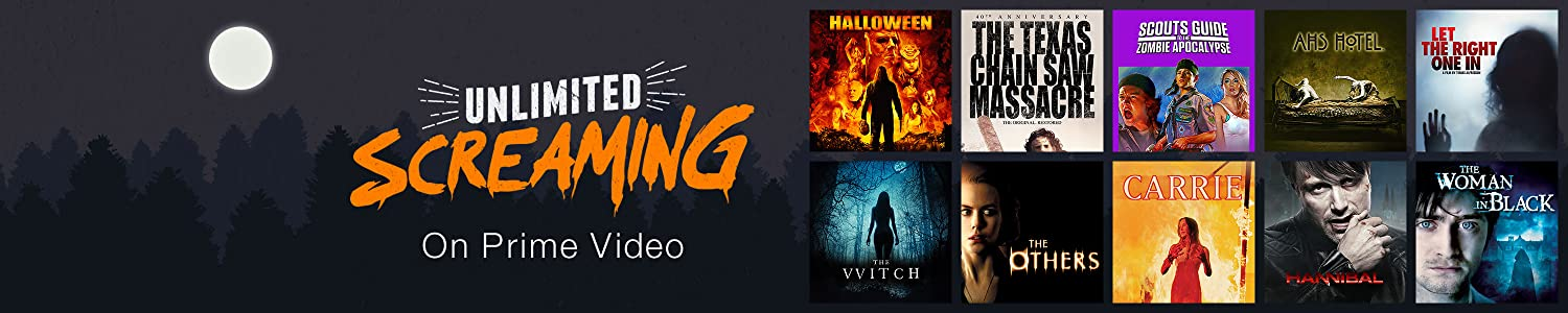 Unlimited screaming on Prime Video