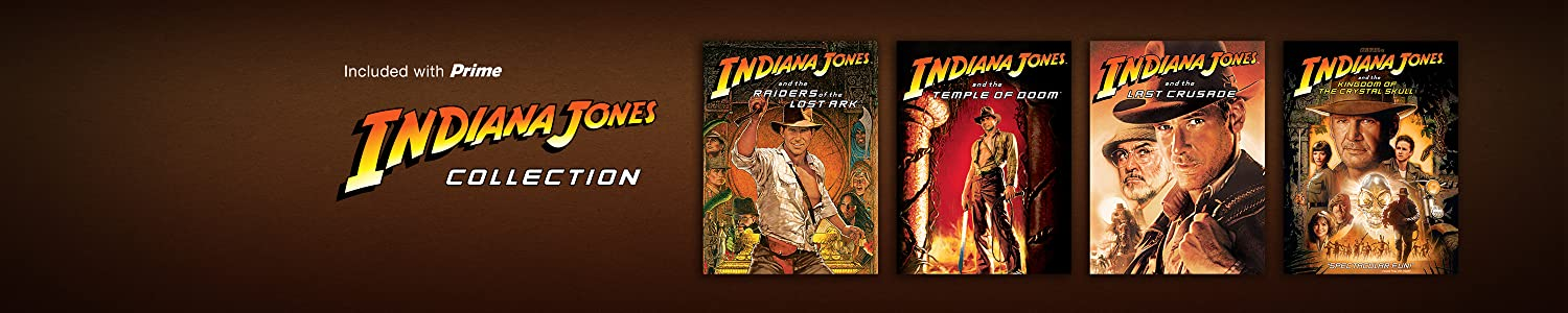 Prime video presents: The Indiana Jones Collection
