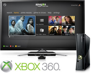 XBOX 360 Added to Amazon's List of Devices That Can Stream Instant Video!