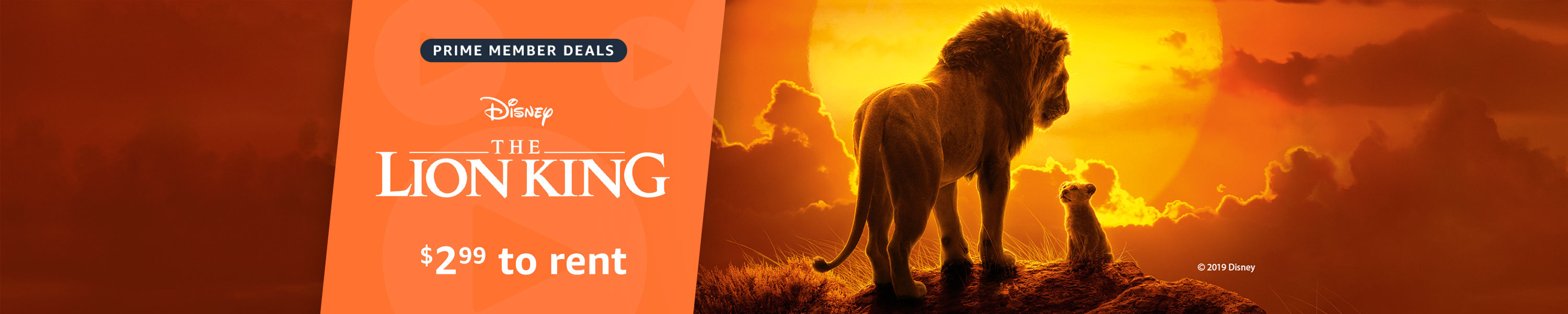 The Lion King on sale