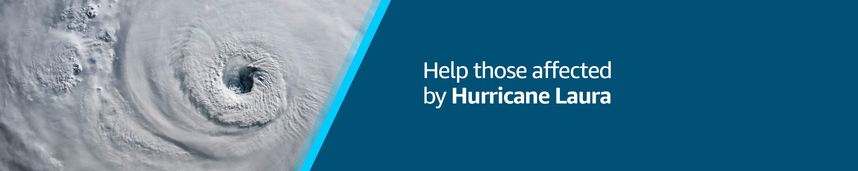 Help those affected by Hurricane Laura