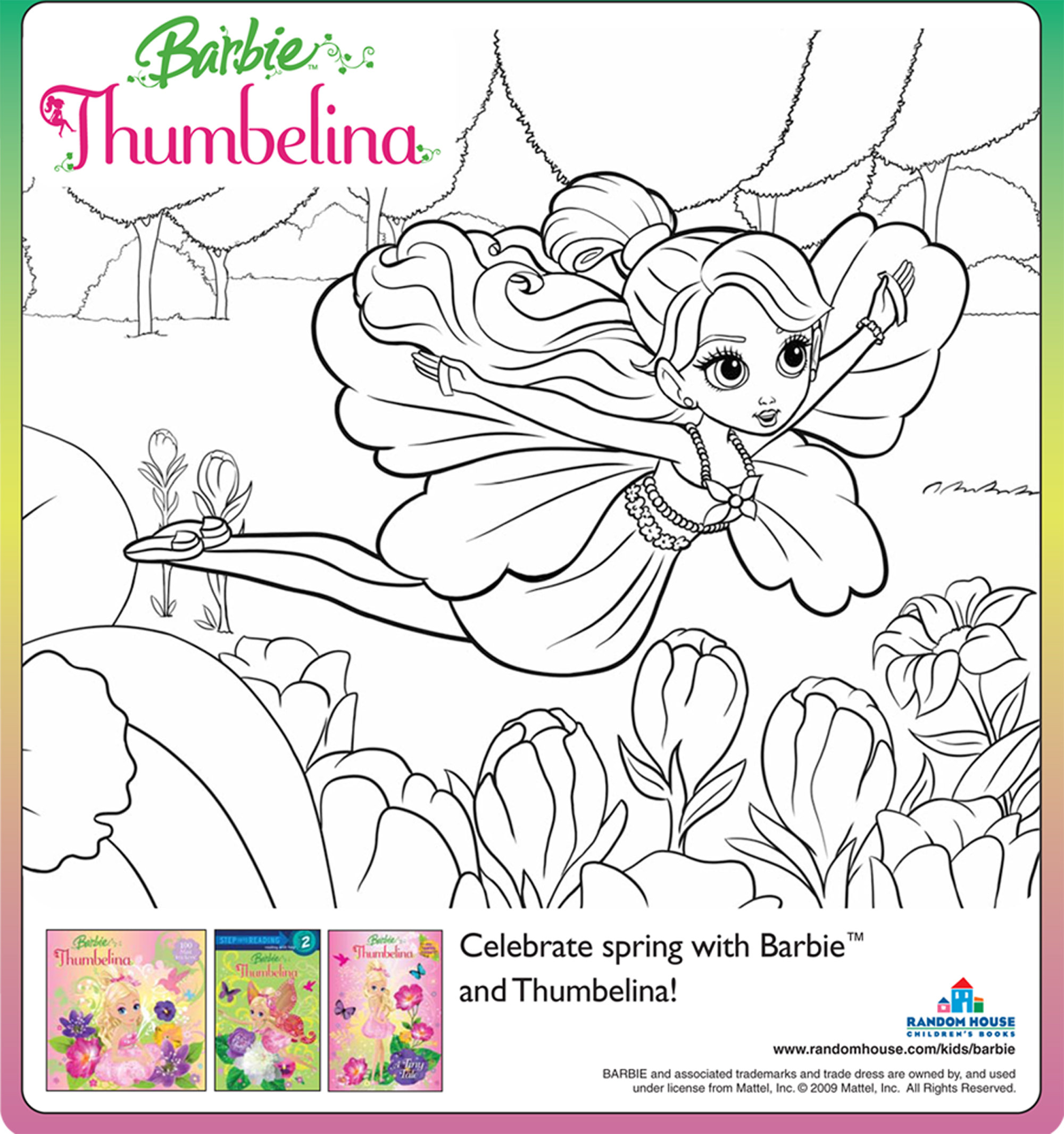 barbie coloring pages full size - photo#33