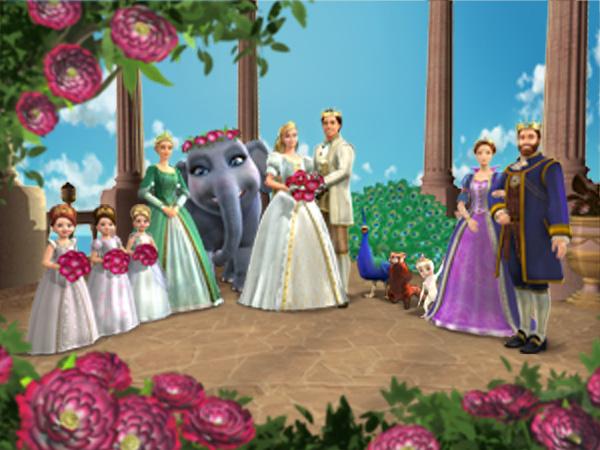 Amazon.com: Barbie as The Island Princess: Kelly Sheridan, Melissa
