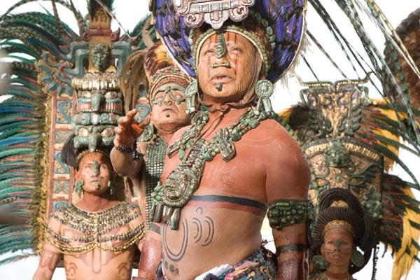 С любовью, Индейцы Майя.
