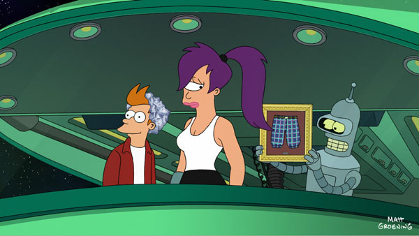 Stills From Futurama Into The Wild Green Yonder Click For Larger Image