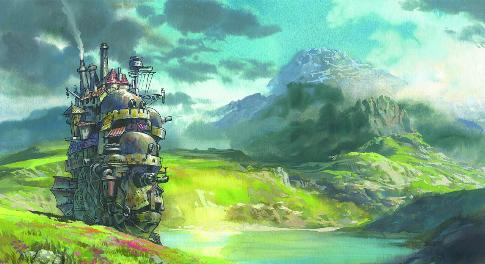 Amazon.com: Howl's Moving Castle: Jean Simmons, Christian Bale, Lauren