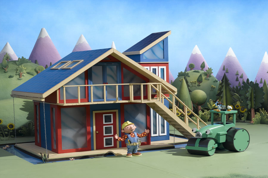 Bob the builder on site houses for House building website