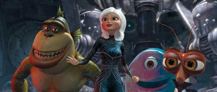 amazoncom monsters vs aliens bluray reese