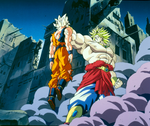 stills from dragon ball z broly second coming click for larger image - Dbz