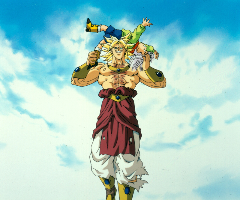 Stills from Dragon Ball Z: Broly Second Coming (Click for larger image