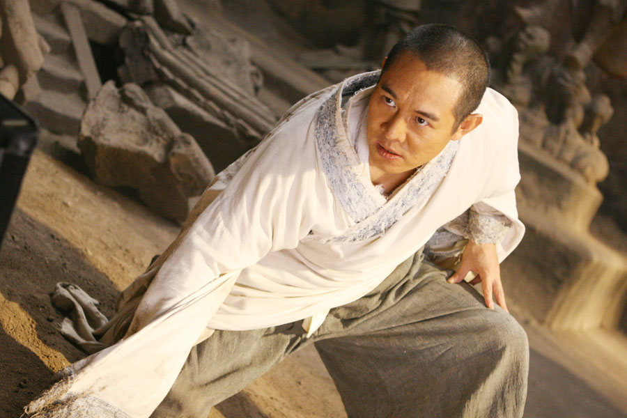 The Forbidden Kingdom: Jackie Chan, Jet Li, Liu Yifei, Collin Chou ...