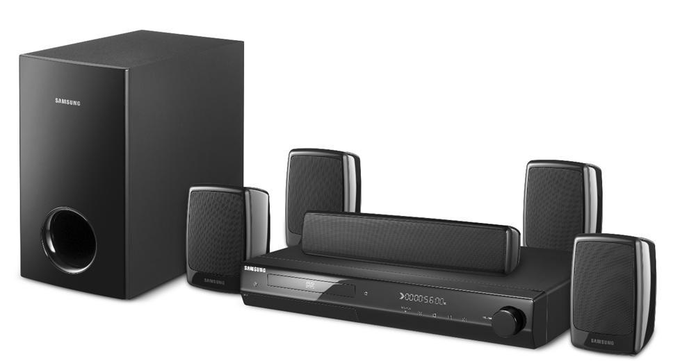 samsung ht z320 1000w home theater system black 58060. Black Bedroom Furniture Sets. Home Design Ideas