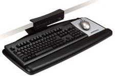 3M AKT65LE Knob-Adjust Keyboard Tray