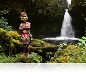 Photo of a tribal warrior shot using the AF-S NIKKOR 24-70mm f/2.8E ED VR lens