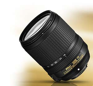 Nikon AF-S DX NIKKOR 18-140mm f/3.5-5.6G ED VR product photo