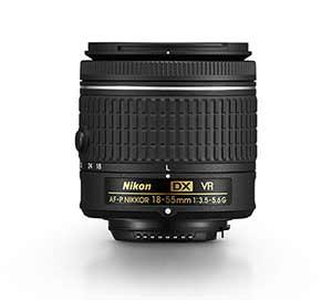 photo of AF-P DX NIKKOR 18-55mm f/3.5-5.6G VR lens