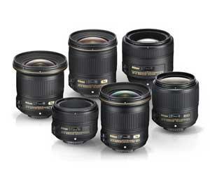 Grouping of NIKKOR f/1.8 lenses