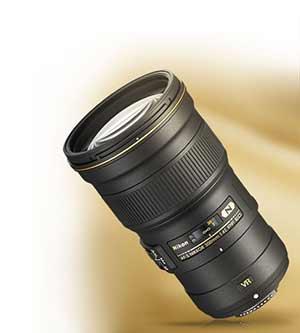 Product photo of the AF-S NIKKOR 300mm f/4E PF ED VR lens