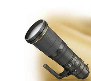 Photo of the AF-S NIKKOR 500mm f/4E FL ED VR lens