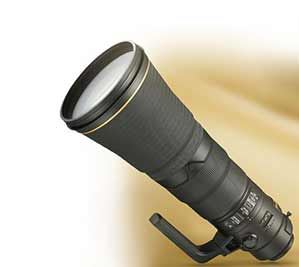 Nikon photo of the AF-S NIKKOR 600mm f/4E FL ED VR lens