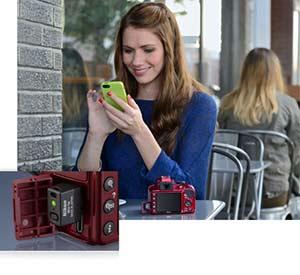 2 Share. V364677578  - Nikon D3300 DX-format DSLR Kit w/ 18-55mm DX VR II & 55-200mm DX VR II Zoom Lenses and Case (Black)