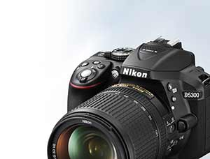 Product photo of the Nikon D5300 D-SLR