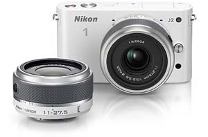 Nikon 1 J2 and 1 NIKKOR 11-27.5mm lens product photos