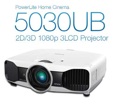PowerLite Home Cinema 5030 UB 2D/3D 1080p 3LCD Projector