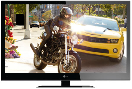 LV2400 3D LED TV