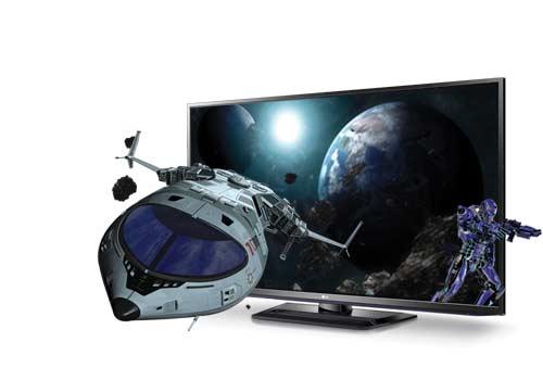 PM6700 3D TV