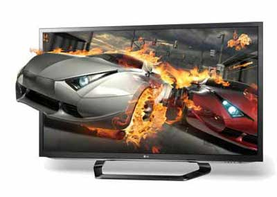 LM6200 3D TV