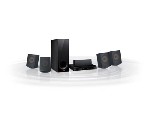 BH6730S Home Theater System - 4 Satellites