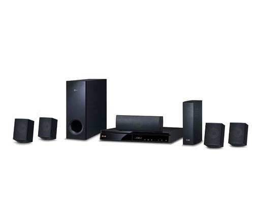 BH6830SW Home Theater System - 4 Satellites